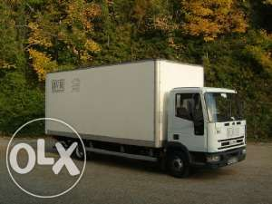 Transport Marfa 7.5 tone Mobila camione duba/prelata lift 3.5