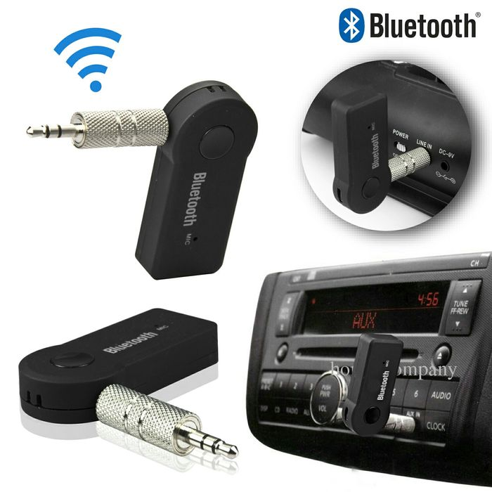 Adaptador Bluetooth para todos aparelhos com entrada auxiliar a 600mt