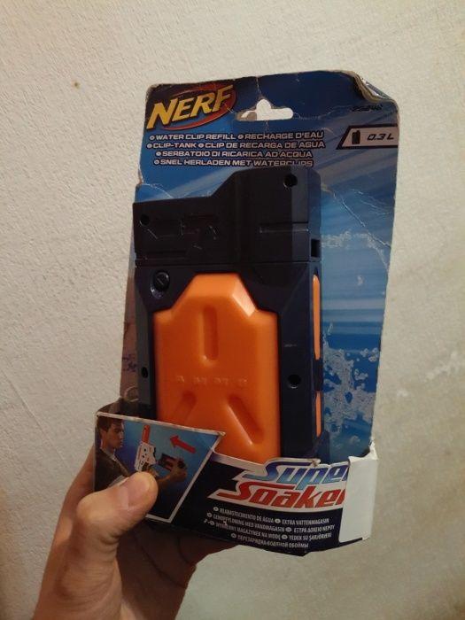 nerf магазин для воды - доп.элемент для водяного бластера.
