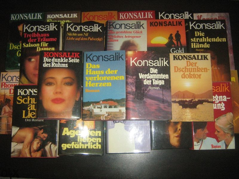 голям лот немски книги на Konsalik - НОВИ !
