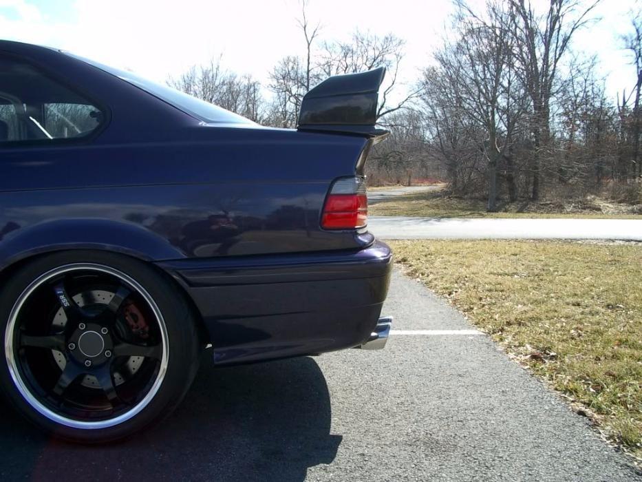 GT2 спойлер за BMW Е36