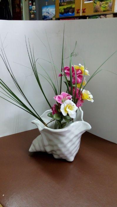 Ваза или декоративна купа с формата на раковина гр. София - image 3