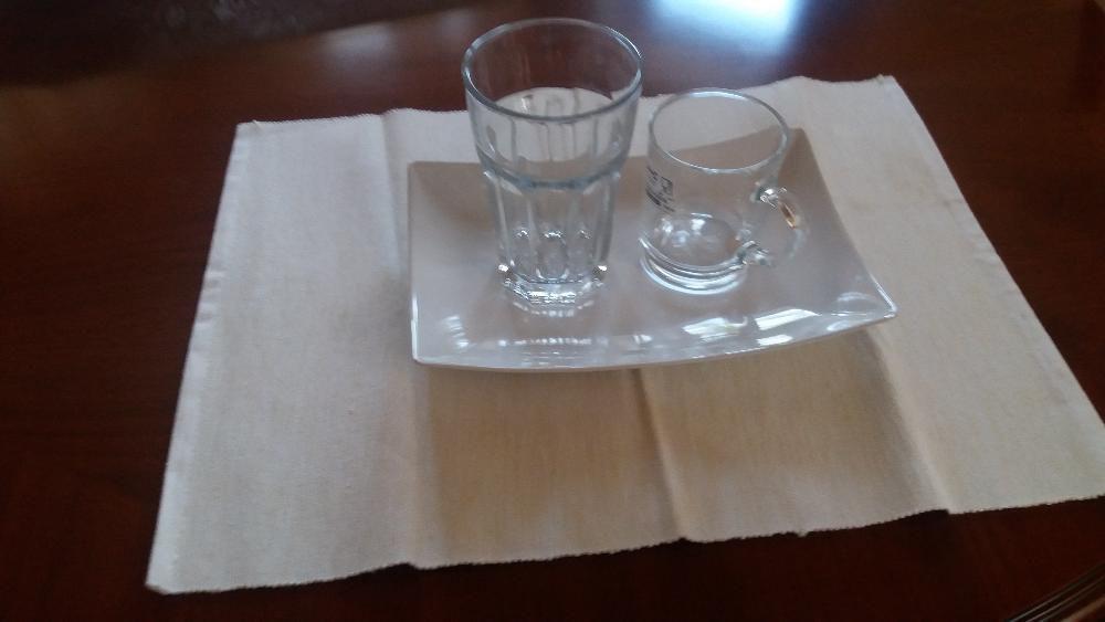 ИКЕА Кружка стекло, производство Франция. Доставка.
