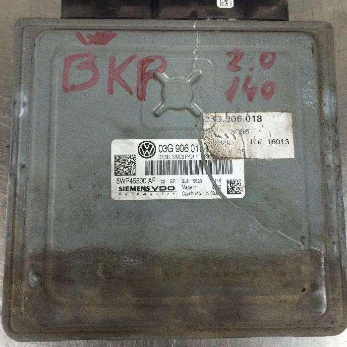 calculator motor ECU vw passat b6 2.0tdi 140cp bkp