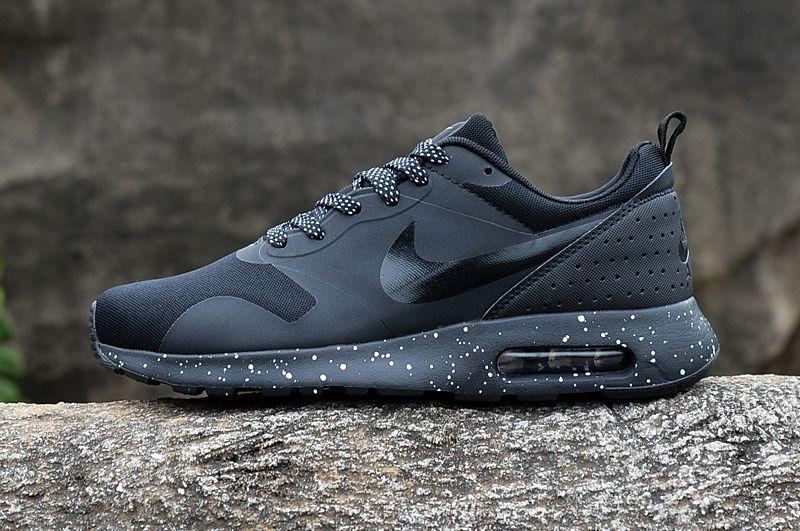 Nike Air max TAVAS black with white dots Оригинални Маратонки+кутия