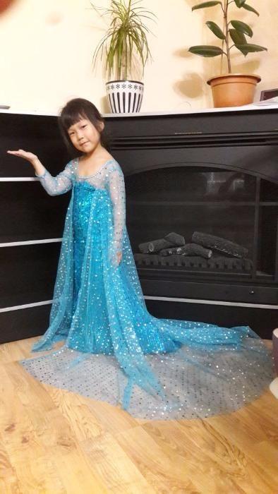 Скидка!!! Шикарное платье Эльза Холодное сердце