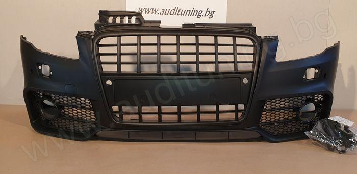 [На Склад] Предна тунинг броня за Audi A4 RS ДИЗАЙН - 2005-2008
