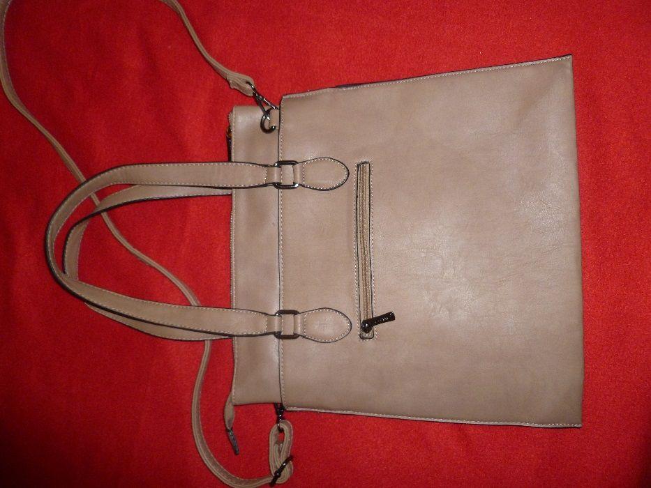 Италианска чанта - твърда - бежова - ПОСЛЕДНО НАМАЛЕНИЕ гр. Горна Оряховица - image 5
