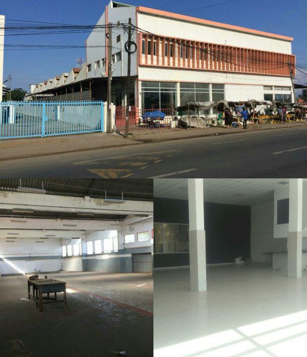Arrenda se pavilhão com 4000 m² de área construída loc no B jardim Bairro do Jardim - imagem 1