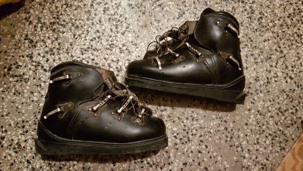 Кожени обувки за ски ретро винтидж Henke Switzerland оригинални