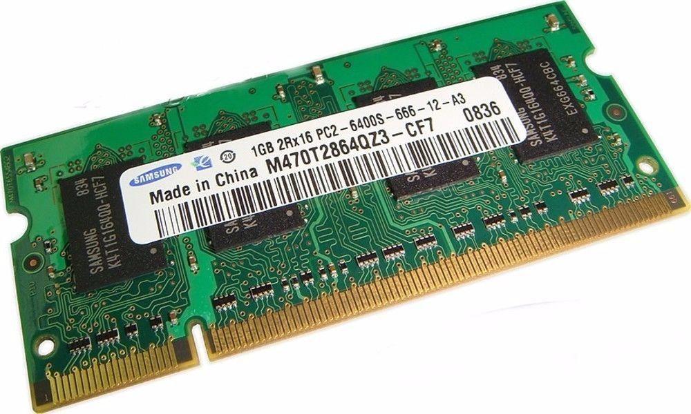 Memorie Laptop Samsung 2 GB PC2-6400s m47ot5660z3