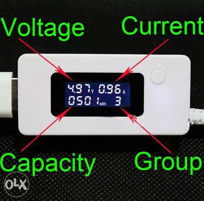 Tester USB Alimentator Cablu Acumulator Baterie Verificare Diagnostic