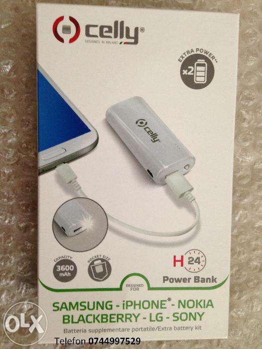 Power bank baterie externa Celly