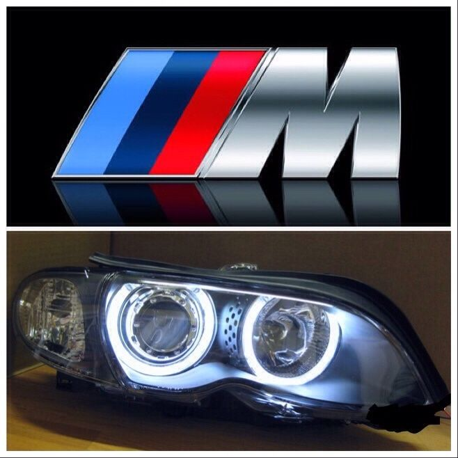Фарове за БМВ Е46 320 д ксенон фейслифт оригинални с енджъл айс BMW M3
