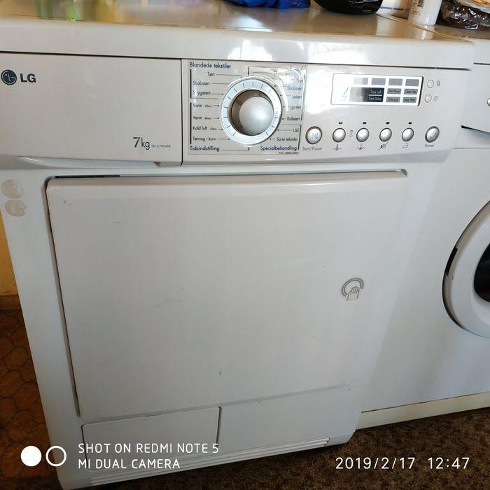 Сушилна LG TD-C70040e за ремонт или части