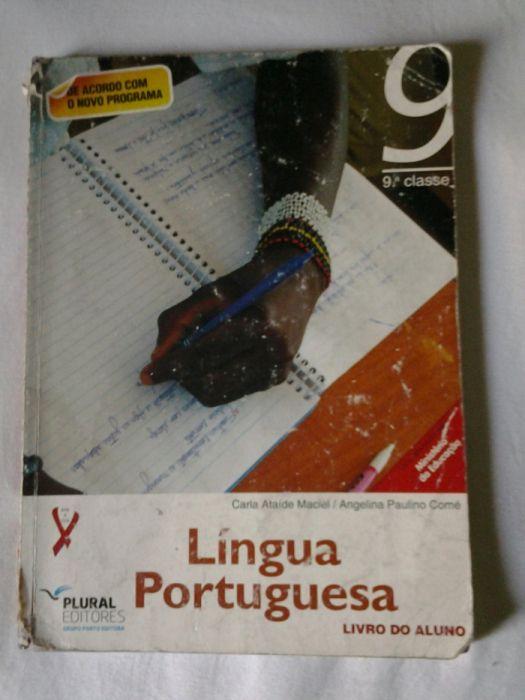 Vende-se livro de Português da 9ªClasse