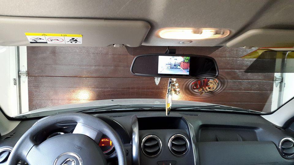 Senzori de parcare cu oglinda si camera marsarier Craiova - imagine 2