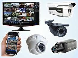 Montagem de câmaras de vigilância
