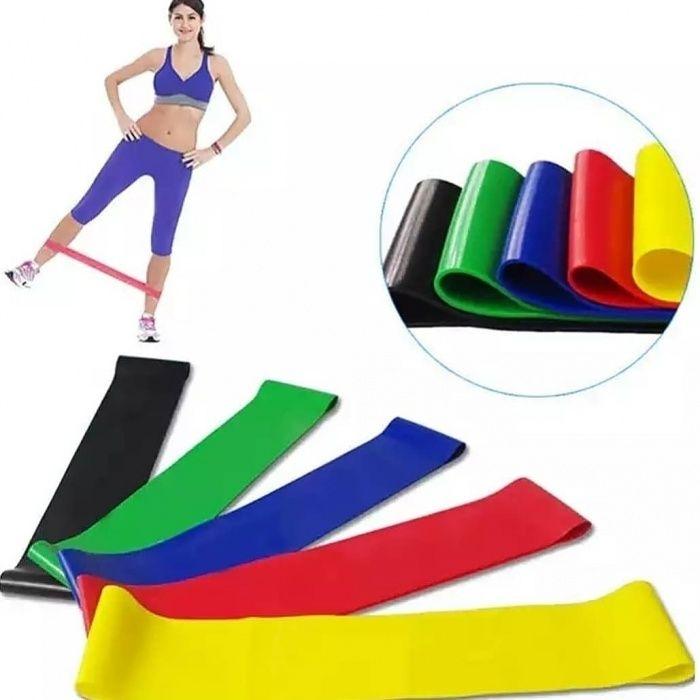 Эластичные резинки для фитнеса