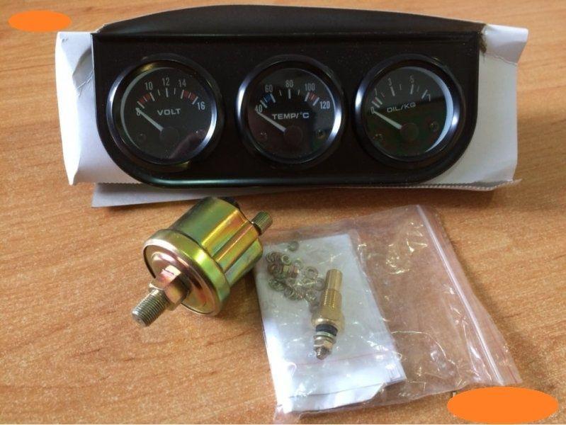 84bfb7c46c2 Измервателни уреди комплект 3бр тип VDO температура налягане масло гр.  Стара Загора - image 2