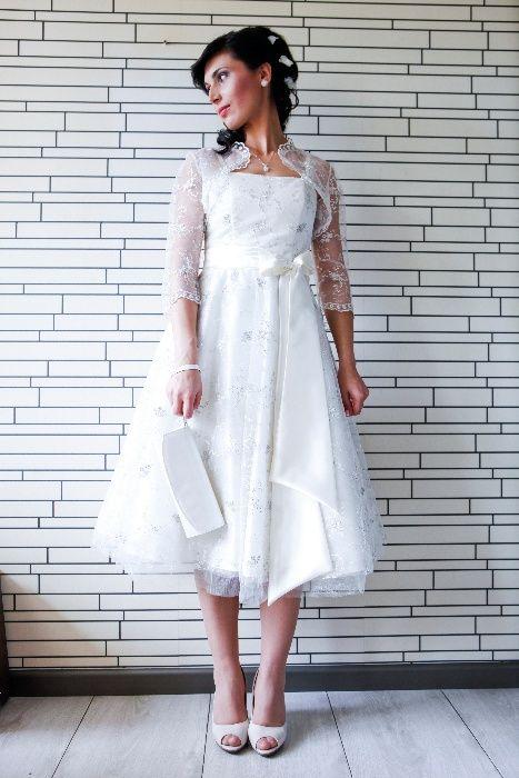 Дизайнерска сватбена рокля