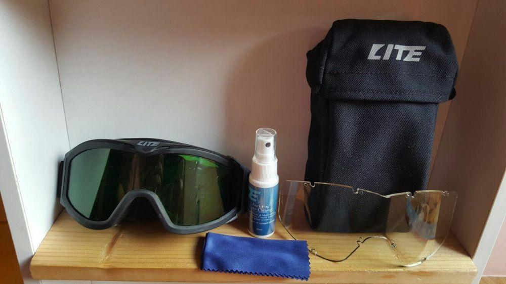Ochelari protectie Ski - Schi ATV SKY SNOWBOARD 2 lentile+husa