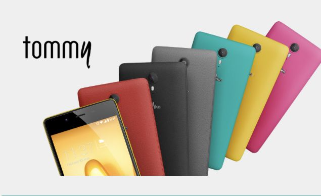 Wiko 5 mobile tommy na caixa