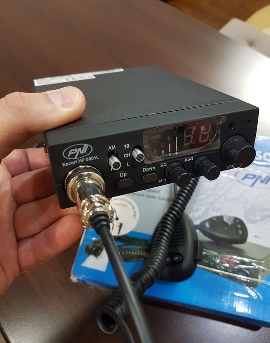Statie radio CB - PNI Escort HP 8001L ASQ + CASTI (factura/garantie)