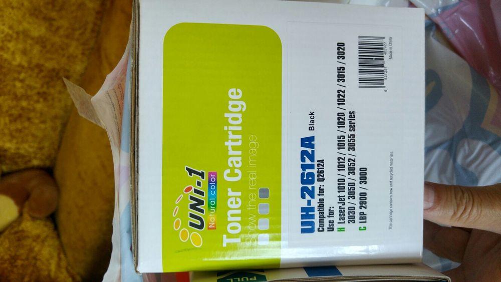 Тонер касети чисто нови за HP принтери