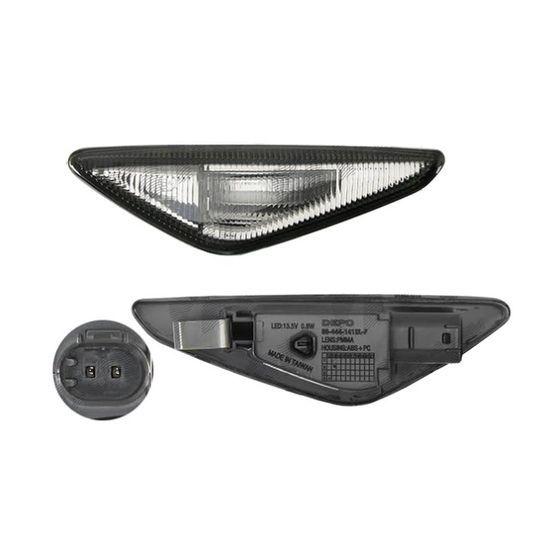 Semnalizari laterale LED X3 F25 X5 E70 X6 E71- finisaj fumuriu