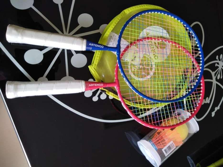 Conjunto de raquetes novo