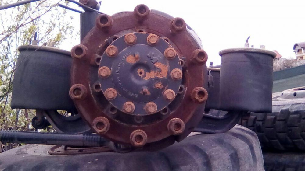 Axe față spate cap tractor man 2004