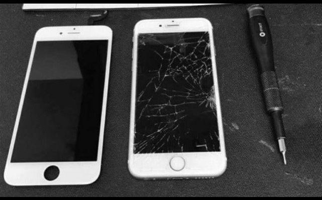 Visores novos para iPhone 5,6,7 e 8 montagem ao domicílio