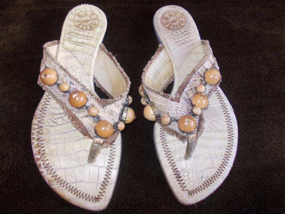 Vind sandale Sendra piele de sarpe