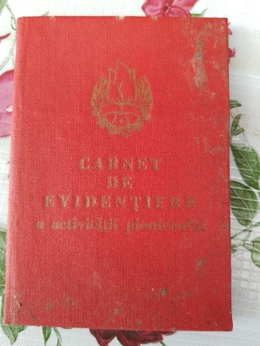 Vand carnete sindicat perioada comunista
