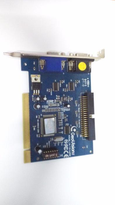 Placa de captura Geovision Dvr G250 16 camere supravegere tip acces IP