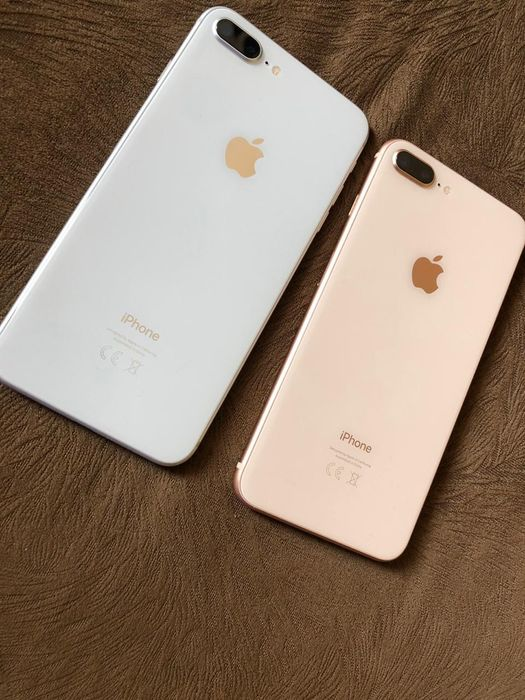 Iphone 8 plus 64gbs gold & white