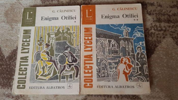 Enigma Otiliei de George Călinescu