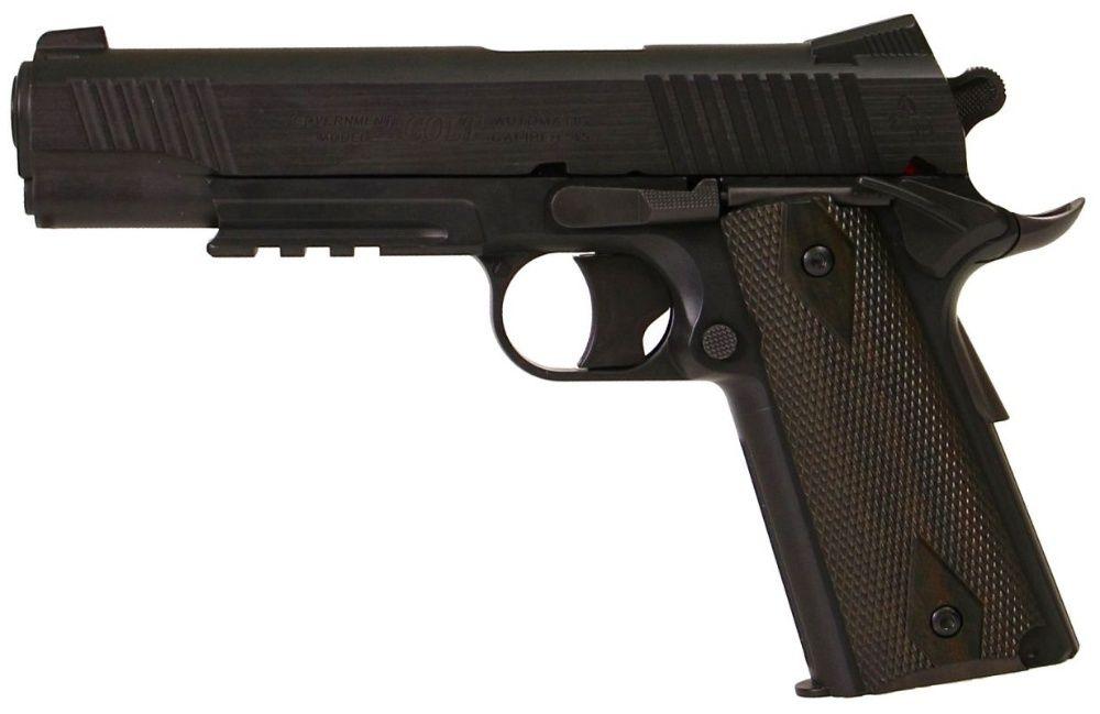 Pistol Airsoft Colt 1911 RAIL GUN NBB