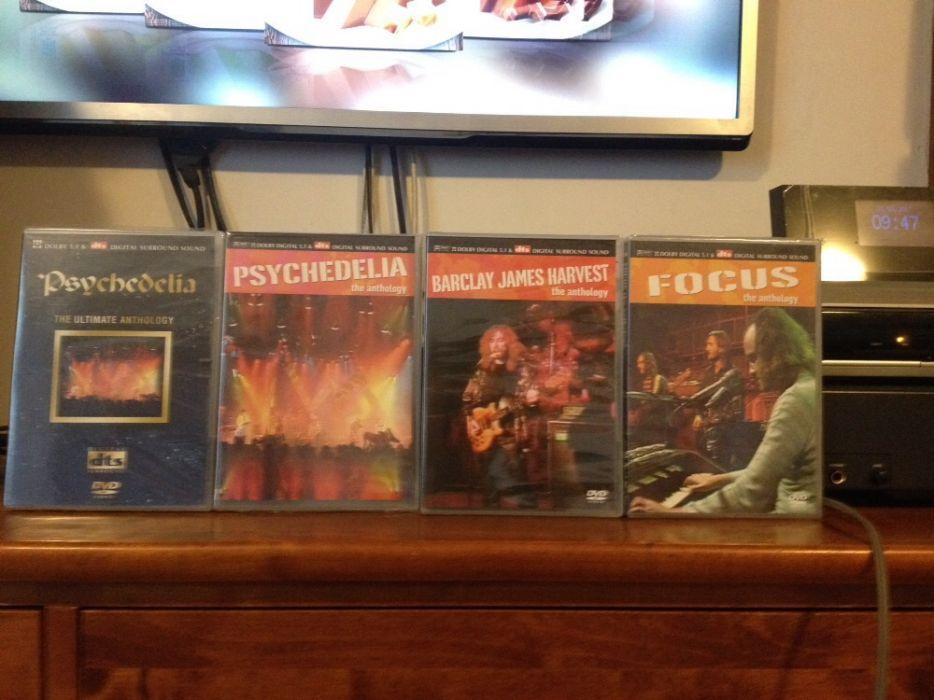 Dvd : Psychedelia ( DTS ); JVC TD-V66G