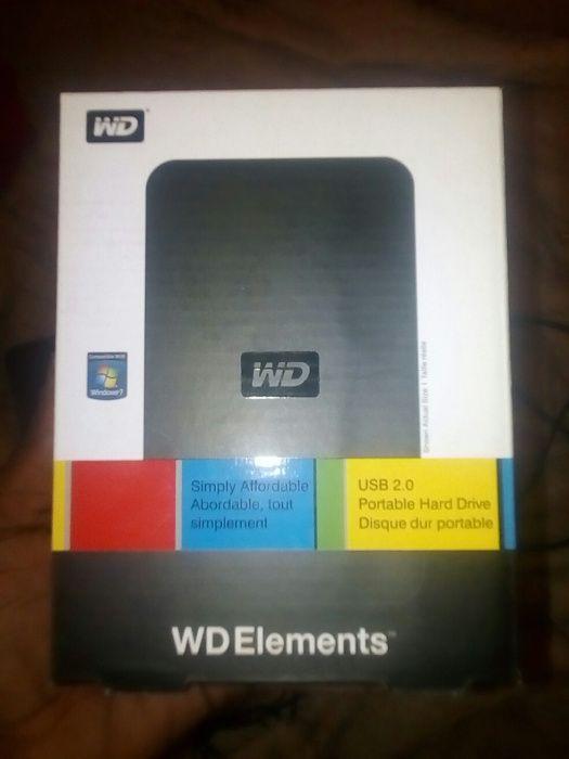 Case pra externo WD elements 2.0 novo na caixa