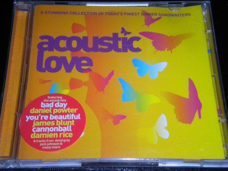 Dublu CD original sigilat Acoustic Love - Various Artists