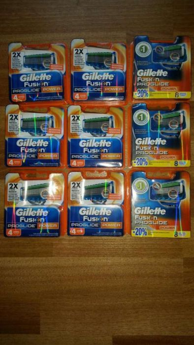 Rezerve de ras Gillette Proglide si Proglide Power! ORIGINALE!