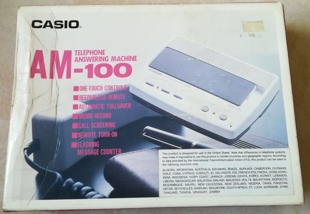 Телефонен секретар CASIO AM-100