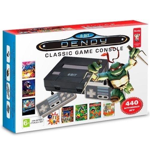 Новинка! Dendy NES + 440 встроенных игр \ магазин GAMEtop