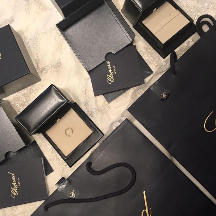 Коробки от ювелирных изделий Chopard