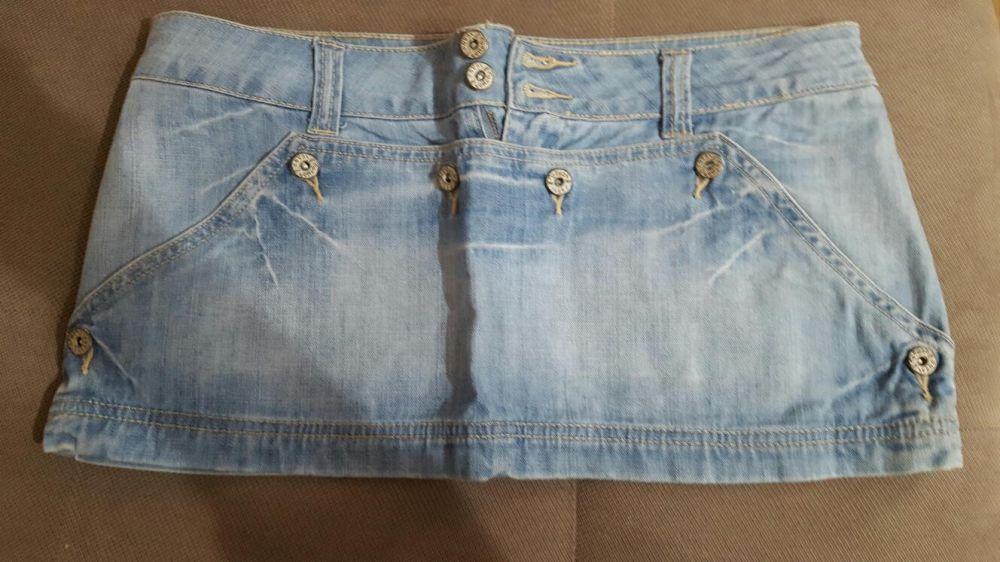 pantaloni scurti si fusta de blugi