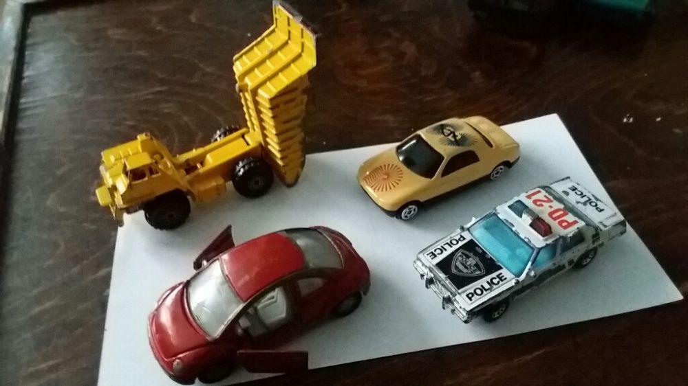 Machete metalice Siku-Beetle, MatchBox-Ford Police si Truck etc