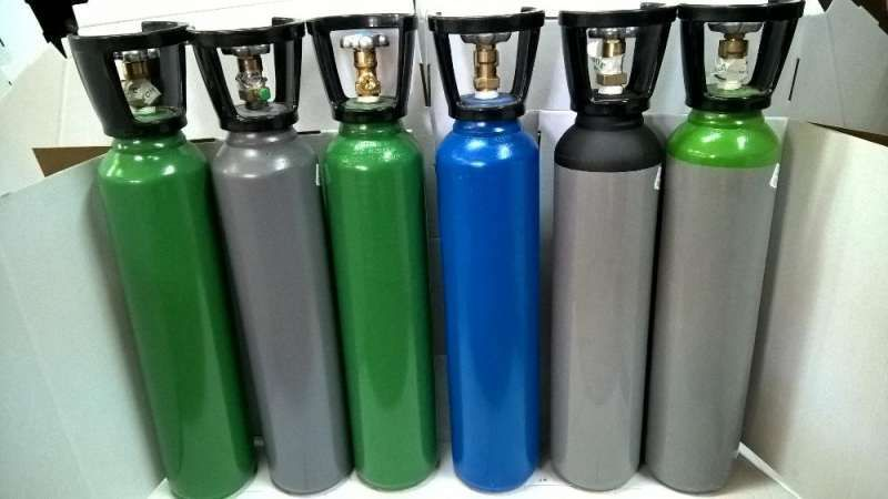 Хелий газова бутилка,бутилка газова заредена с Хелий.Нова+сертификат