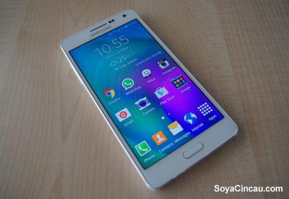 Samsung A5 Gold 32GB Bairro Central - imagem 1